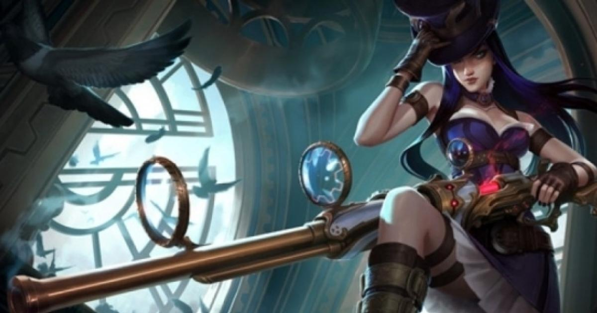 League Of Legends Riot Games Reveals Legendary Skin For Caitlyn