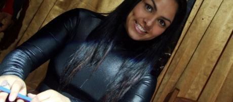 Andressa Soares está bem diferente, atualmente