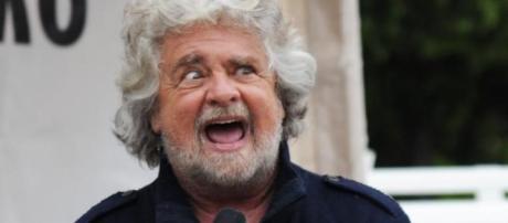 Beppe Grillo in una foto pubblicata da radicaliroma.it
