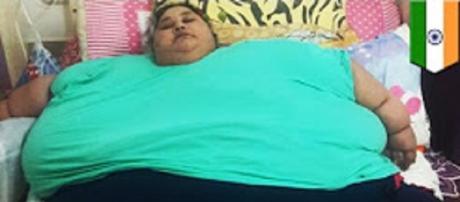 "Source Youtube NYOOOZ TV. ""World's Heaviest Woman"" loses 713 pounds"
