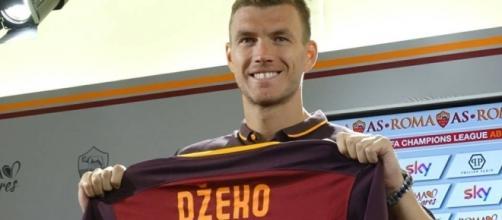 """Conferenza stampa, DZEKO: """"Sto bene sono pronto per partire ... - laroma24.it"""