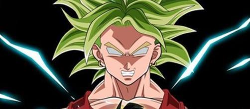 Kale, la guerrera saiyajin poderosa