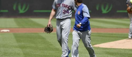 Mets' ace Syndergaard exits with injury, scheduled for MRI - SFGate - sfgate.com