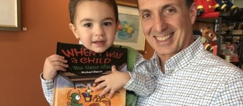 Michael Cascio is the author of the book titled 'When I Was A Child I Was Always Afraid'. / Photo via Michael Cascio, used with permission.