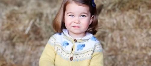 Princess Charlotte turns two. / Photo via Princess Diana & The Royal Family, YouTube screenshot