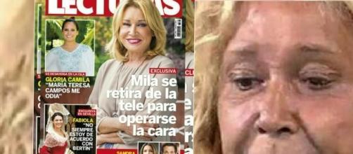 Sálvame: Mila Ximénez pasará por quirófano para retocarse el rostro