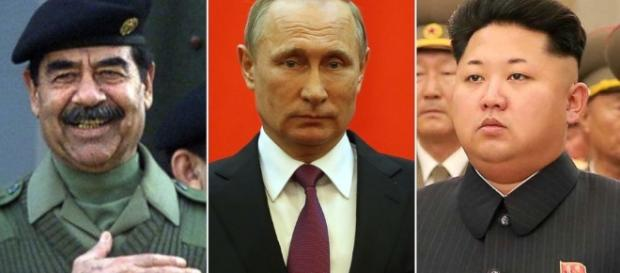 Donald Trump's affection for controversial dictators - image credit go.com