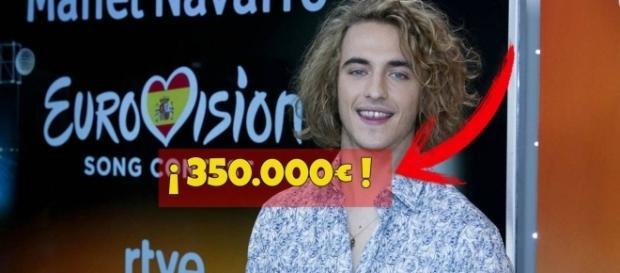 Manel Navarro, Eurovision 2017