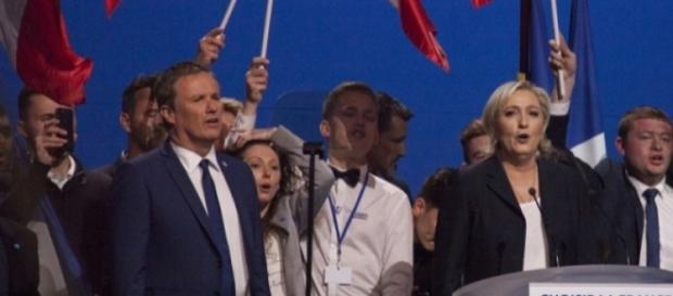 NDA et Marine Le Pen à Villepinte