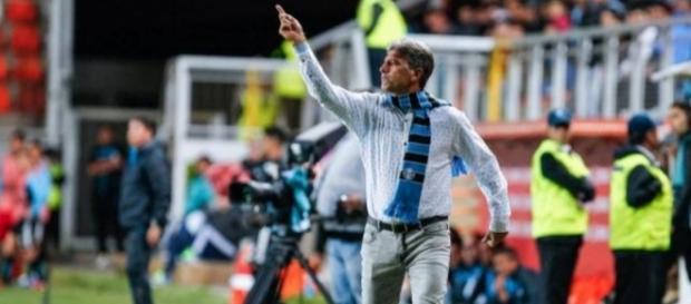 Renato mostrou irritação com a arbitragem