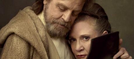 Luke and Leia Reunite in Star Wars: The Last Jedi Video & Photos - movieweb.com