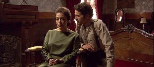 Il Segreto: Francisca e Cristobal complici.