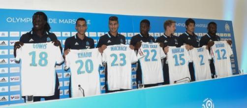 Les joueurs recrutés par l'OM en 2016