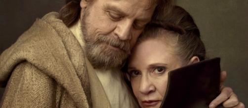 Luke and Leia Reunite in Star Wars: The Last Jedi Video & Photos - movieweb.com