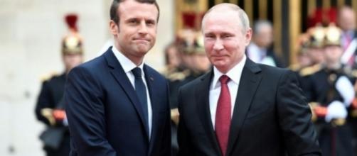 Macron-Poutine: Premier contact et déjà des tensions
