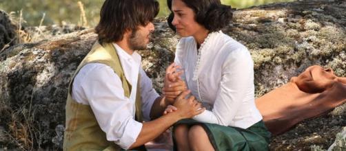 Maria e Gonzalo il Segreto di Puente Viejo