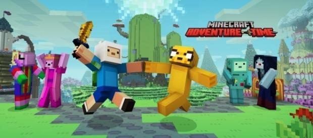 'Adventure Time' comes to Minecraft on PS4, Xbox One, and Nintendo Switch.