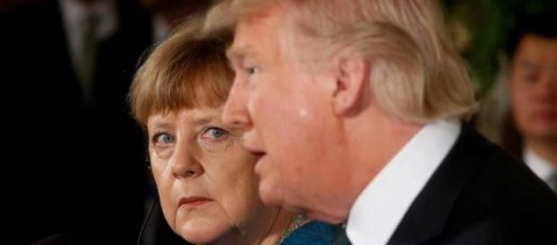 Donald Trump dijo que los alemanes son malos muy malos