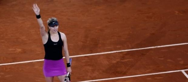 Eugenie Bouchard, has to battle injury and Sevastosa in 2nd round of French Open | Picture courtesy of - thestar.com