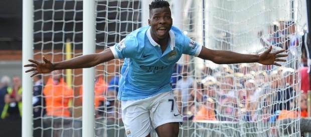 L'attaquant de Manchester City, Kelechi Iheanacho