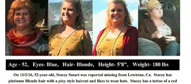 Missing person Stacey Smart / Photo via pinterest