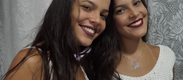 Veja as fotos do ensaio de Emilly e sua irmã Mayla