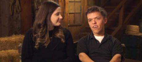 LPBW: Zach Roloff and his wife from a screenshot