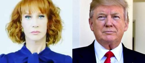 Griffin busted for photo with decapitated Trump head. Eonline.com