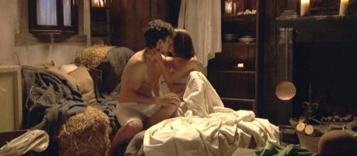 Il Segreto: Beatriz e Matias fanno l'amore