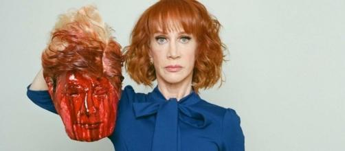Kathy Griffin holds bloodied decapitated Trump head - ABC News ... - net.au
