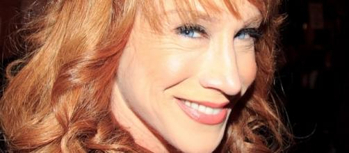 Kathy Griffin's contract with CNN was terminated after her bloody depiction of Donald Trump. (Flickr/Gordon Correll)