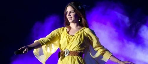 Lana Del Rey était présente au festival américain Coachella de cette année.