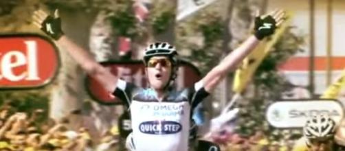 Matteo Trentin, la vittoria al Tour de France