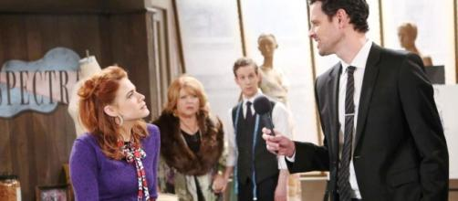 Quinn and Ridge worried that their secret may be revealed. Meanwhile, Saul and Thomas will face off this Wednesday. Photo - sheknows.com
