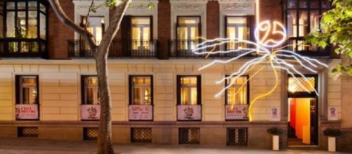 Raquel Oliva iluminación fachada Casa Decor 2017