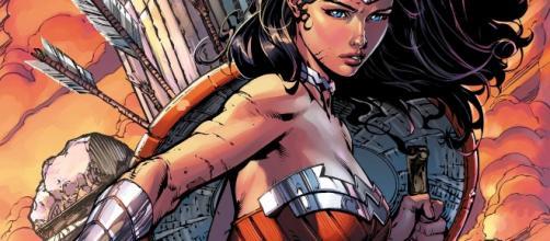 Représentation de la déesse de la guerre dans les comics new 52