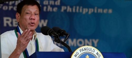 Rodrigo Duterte countered Chelsea Clinton's remarks about his rape joke. (Flickr/Prachatai)