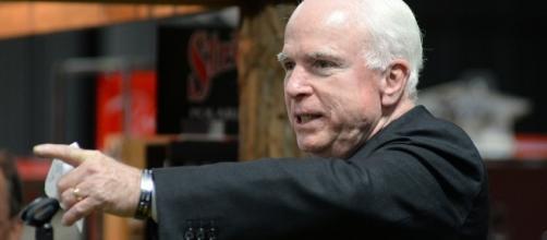US senator John McCain slams China during his speech in Sydney visit. (Flickr/Zach Frailey)