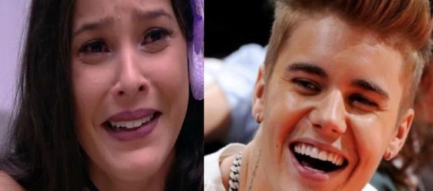 Emilly tenta atenção de Bieber, mas se dá mal - Google
