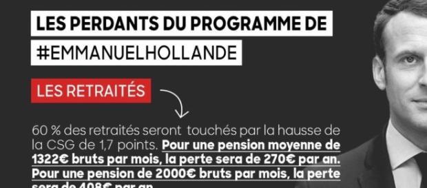 En touchant à la CSG des retraités Macron diminuera leur pension ... - lagauchematuer.fr