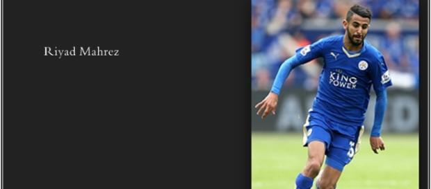 Riyad Mahrez. Photo by Mahrez Brahimi Creative Commons Attribution-Share Alike 4.0 International