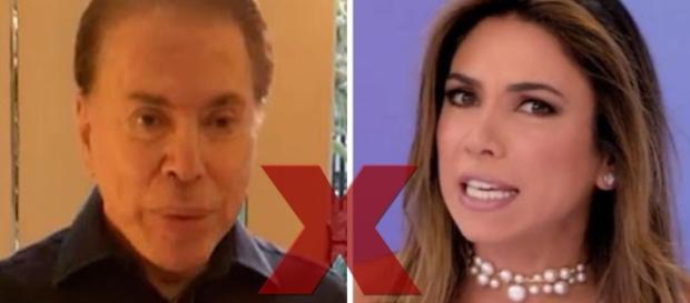 Silvio Santos corta laços com Ticiana por Patrícia - Google