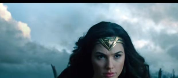 Wonder Woman screencap from Warner Bros via Youtube