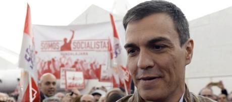 Pedro Sánchez, candidato a las primarias del PSOE