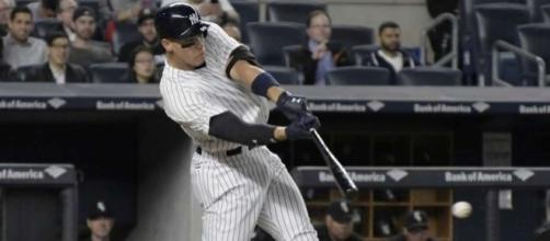 6-foot-7 Aaron Judge transforms batting practice in Bronx ... - stamfordadvocate.com