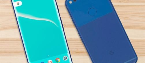 A concept design showing what the Google Pixel 2 might look like (via uSwitch x Benjamin Geskin)