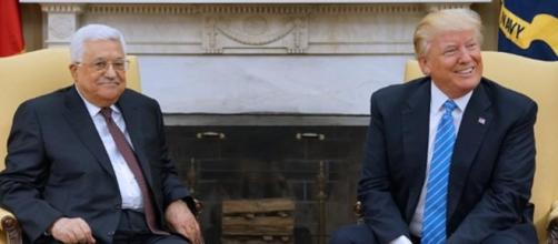 first meeting with Mahmoud Abbas, Trump vows to broker Israeli ... - wionews.com