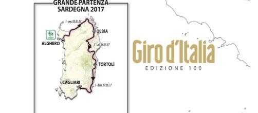 Il Giro d'Italia numero 100 parte dalla Sardegna - Percorso Tappa 2: Olbia-Tortolì - gazzetta.it