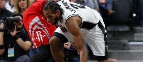 Kawhi y los Spurs empatan serie ante Houston