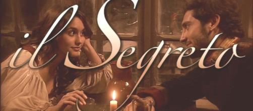 La copertina della prima stagione de Il Segreto di Puente Viejo con Pepa e Tristan
